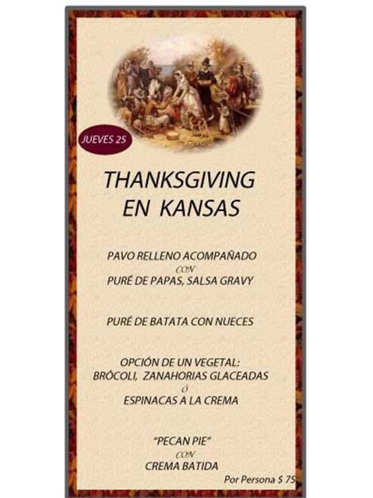 Kansas thanksgiving